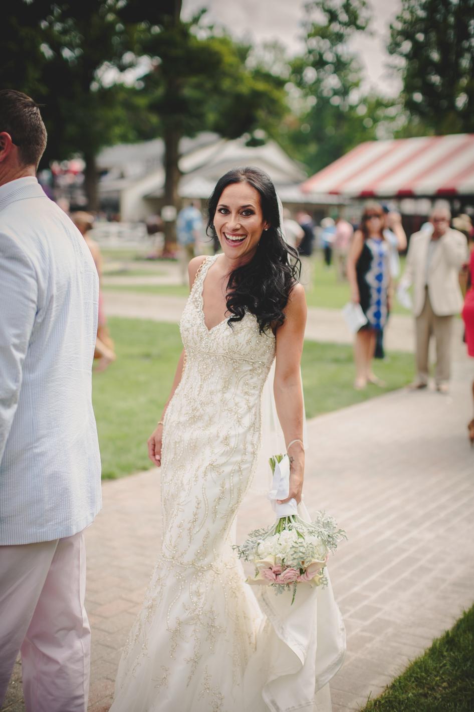 saratoga race track ny wedding gillian geoff maler photography